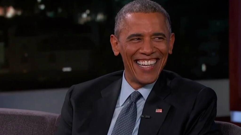 这是一场搞笑又感人的 show,奥巴马的鬼畜模仿绝了!图片