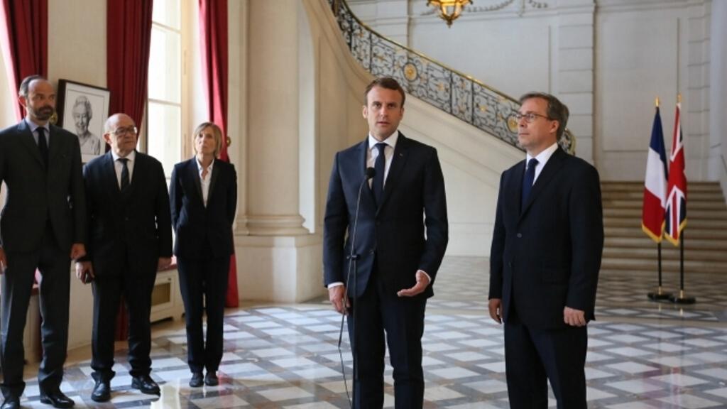法国总统马克龙就英国曼彻斯特爆炸事件发表讲话