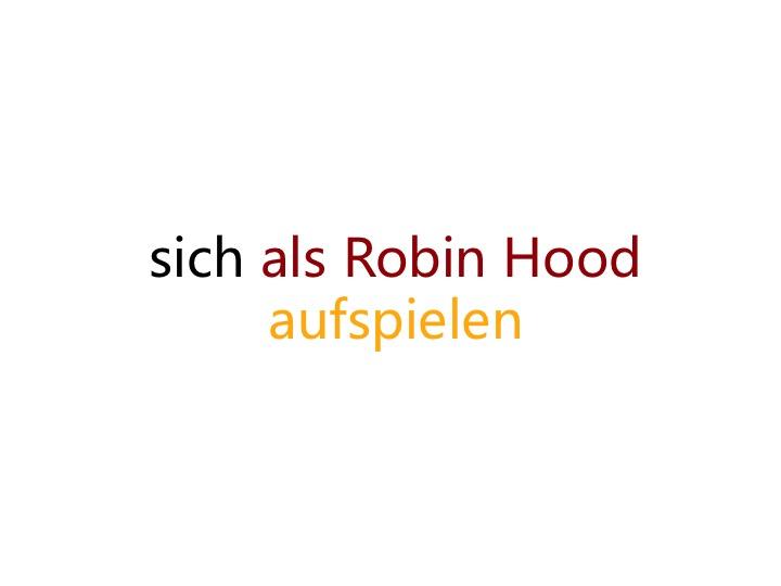 """""""羅賓漢""""竟然還是知識點!這個德語短語你認識嗎?"""