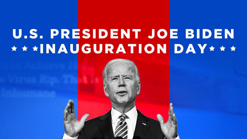 美国总统拜登就职演说:让我们所有人重新开始