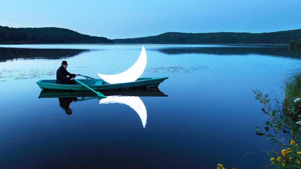 赴一场与月亮的约会~🌙
