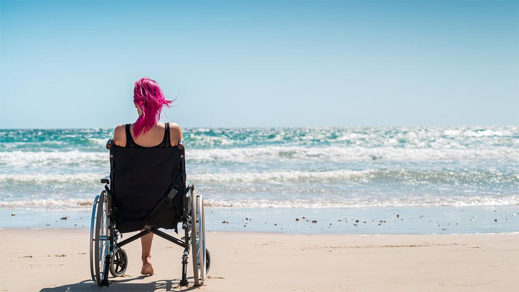 世界殘疾人日 | 折翼的天使降臨人間時,她依舊是天使…