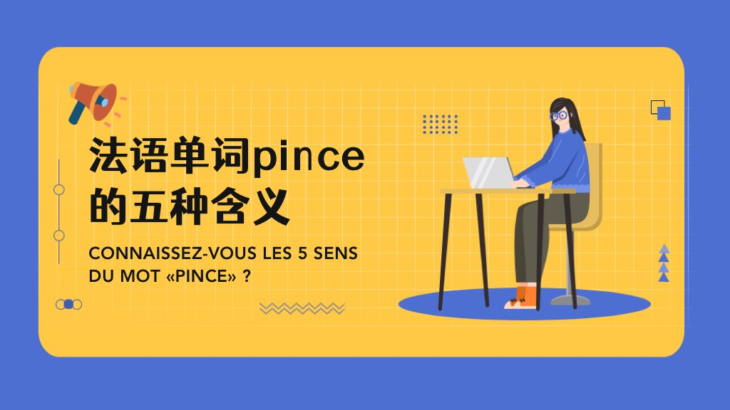 法語單詞pince的五種含義