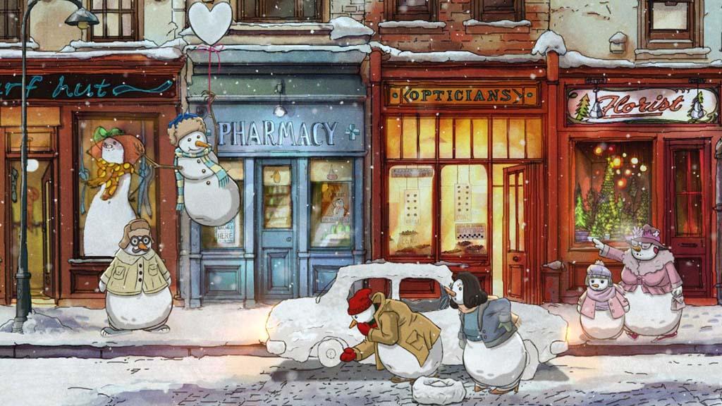 John Lewis今年暖心圣诞广告——《付出一点爱》❤️