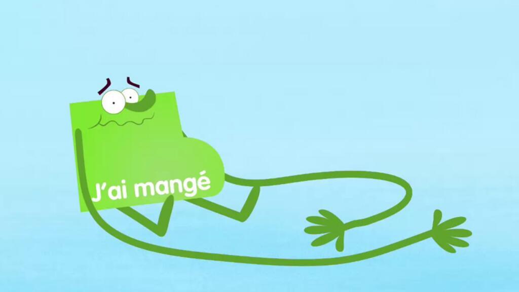 簡單的小動畫帶你理解法語中的動詞變位和時態??